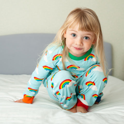Toby Tiger Rainbow Pyjamas