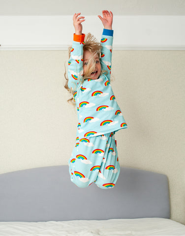 Image of Toby Tiger Rainbow Pyjamas