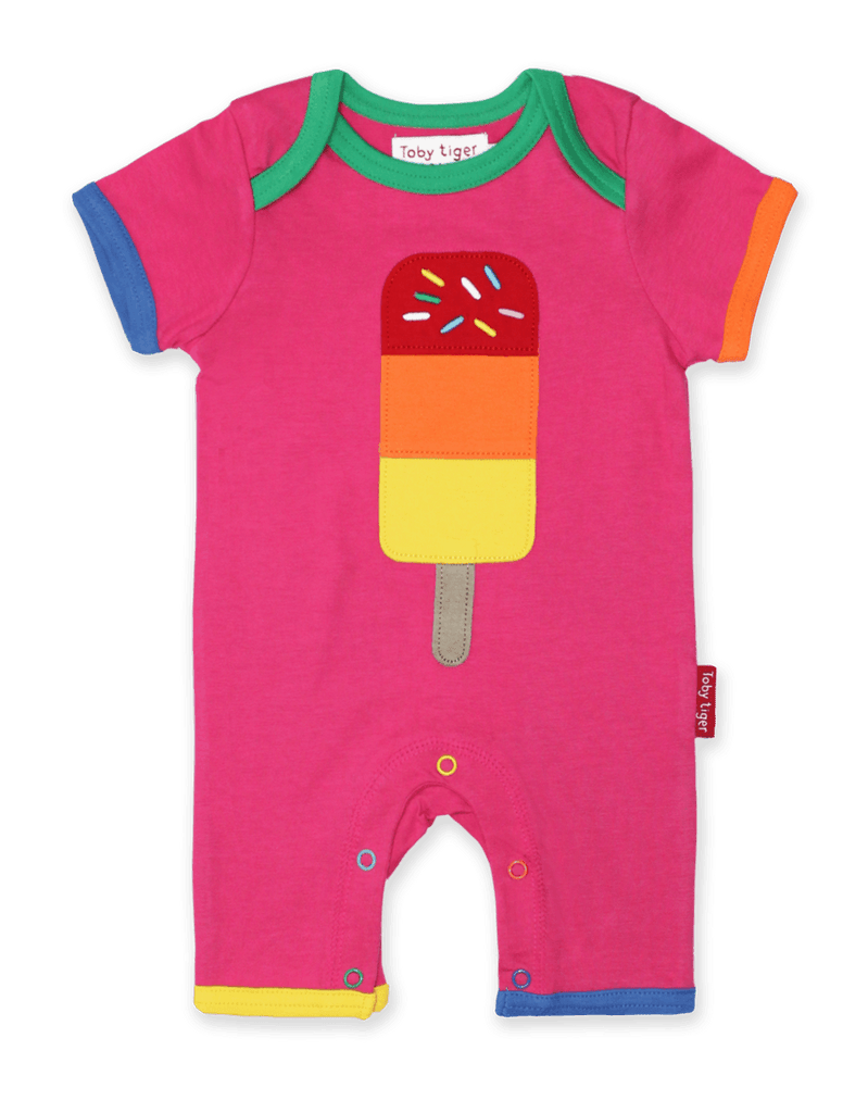 Toby Tiger  Lolly Applique Romper