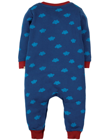 Frugi Snug And Cosy Romper - Westward Wind/Dragon - Tilly & Jasper