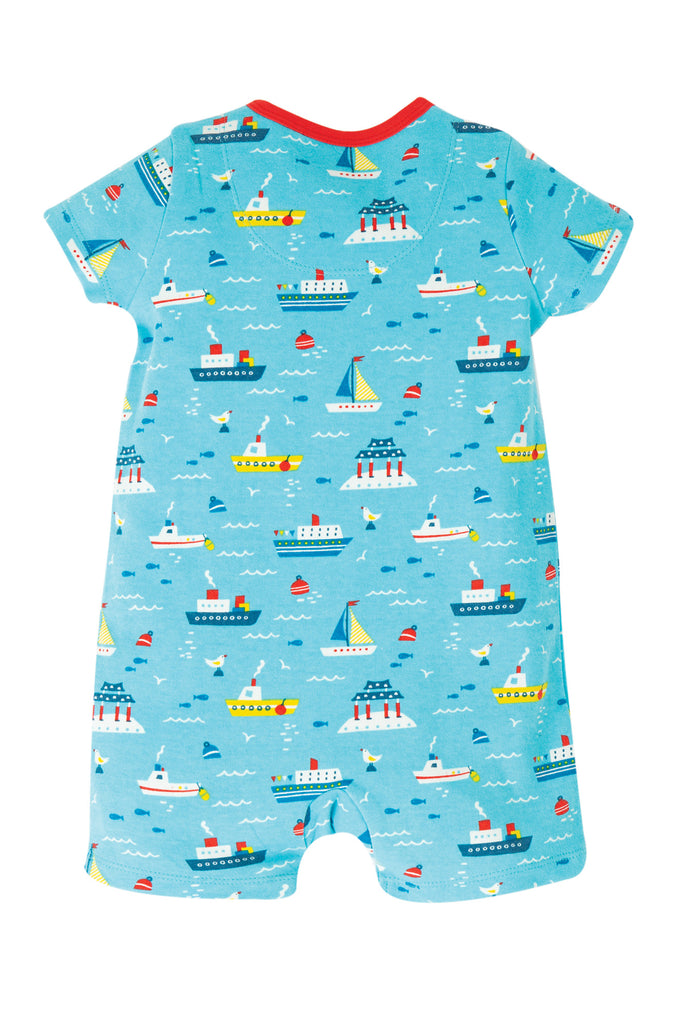 Frugi Reed Romper - Sail The Seas
