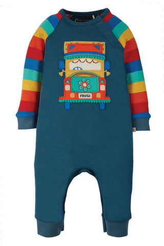 Image of Frugi Cameron Romper -  India Ink/Truck