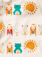 LGR River Friends Babygrow - Organic Cotton