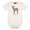 Image of Organic Applique One Piece - Rose Dot Doe