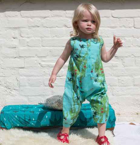 LGR Under The Willows Playsuit - Organic Cotton