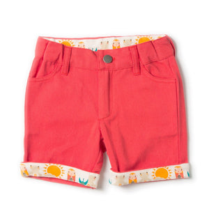 LGR Red Sunshine Shorts - Organic Cotton