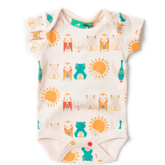 LGR River Friends Baby Body - Organic Cotton