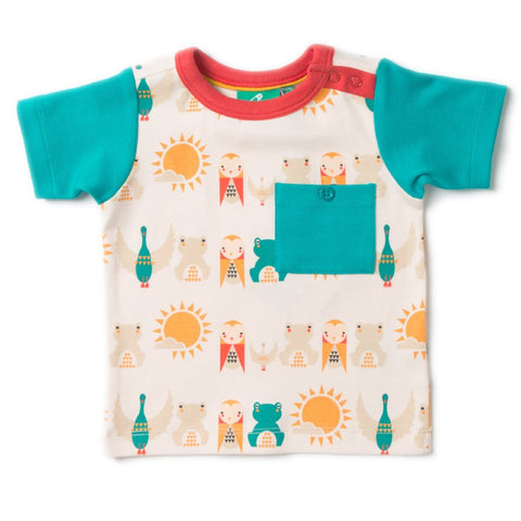 LGR Waterfall River Friends Top - Organic Cotton