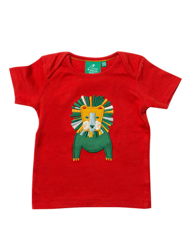 Image of LGR Appliqué Top - Leo Lion