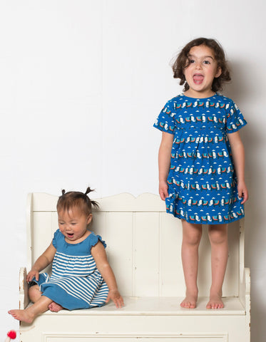 Image of LGR Summer Days Dress - Elephants On Parade