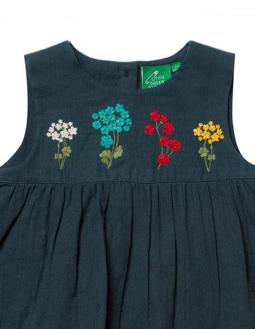 Image of LGR Embroidered Dress - Spring Bloom