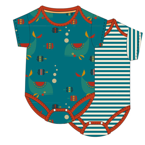 Image of LGR Sealife Baby Body Set
