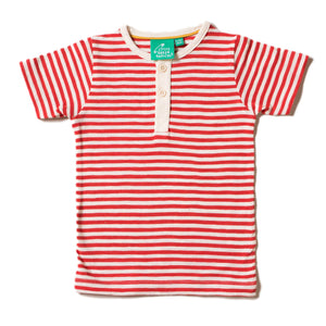 LGR Short Sleeve Everyday Tee - Red Stripe
