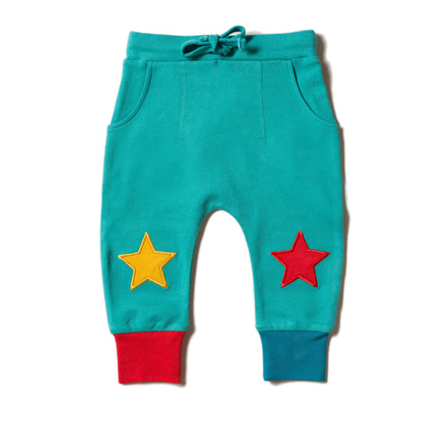 Image of LGR Peacock Blue Star Jogger