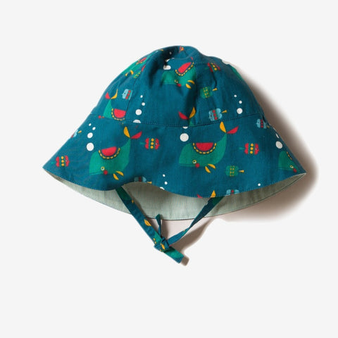 Image of LGR Whale Of A Time Reversible Sunhat