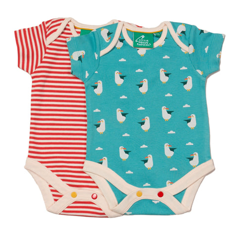LGR Summer Seagull Baby Body Set
