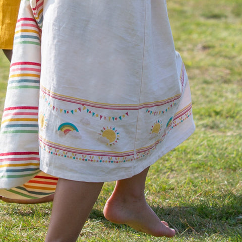 LGR Sun And The Rainbow Storytime Dress