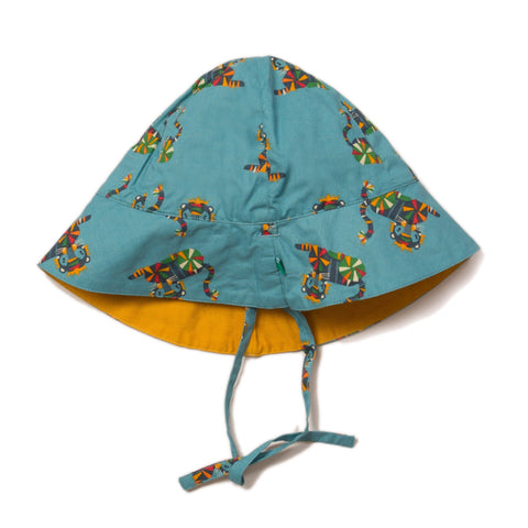 Image of LGR Rainbow Tigers Reversible Sunhat