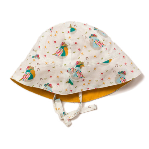 Image of LGR The Birds Did Sing Reversible Sunhat