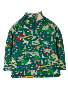Frugi Snuggle Fleece - Scots Pine Fairytale