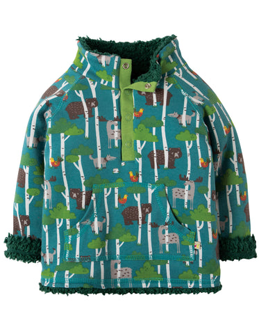 Frugi Little Snuggle Fleece - Hide & Seek - Organic Cotton