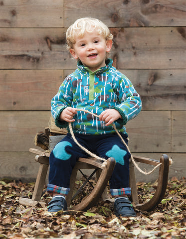 Image of Frugi Little Snuggle Fleece - Hide & Seek