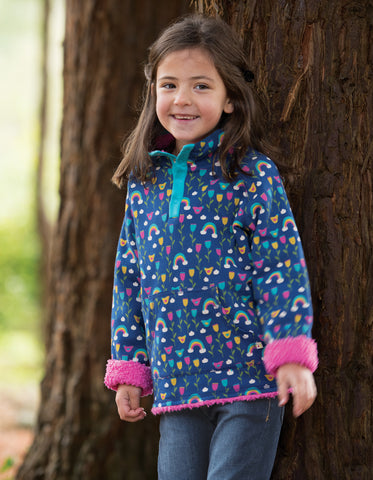 Frugi Snuggle Fleece - Perfect Day - Organic Cotton