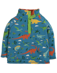 Frugi Snuggle Fleece - Jurassic Lands