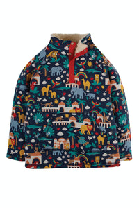Frugi Snuggle Fleece - Indigo India