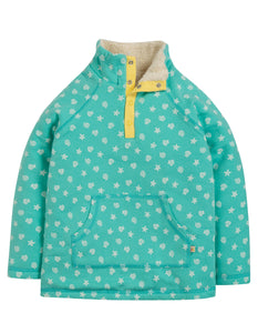 Frugi Snuggle Fleece - St Agnes Shell Polka - Tilly & Jasper
