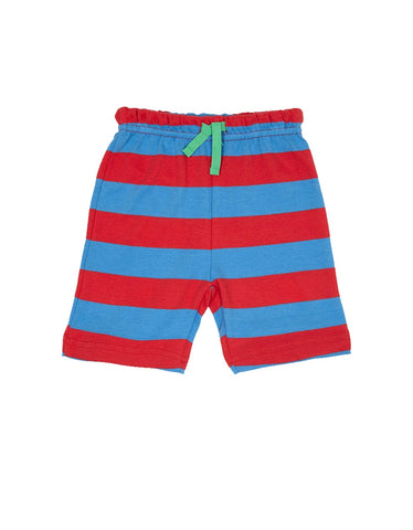 Image of Toby Tiger Red & Blue Stripe Shorts
