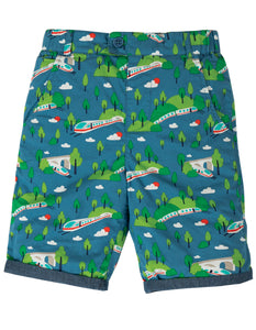 Frugi Ralph Reversible Shorts - Bullet Train