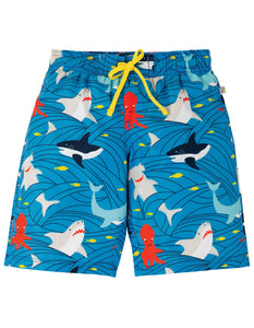 Frugi Board Shorts - Go With The Flow