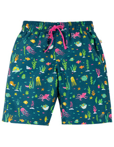 Frugi Board Shorts - Rainbow Reef
