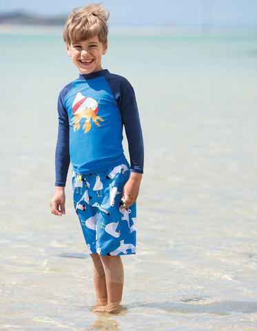 Image of Frugi Board Shorts - Guys and Gulls