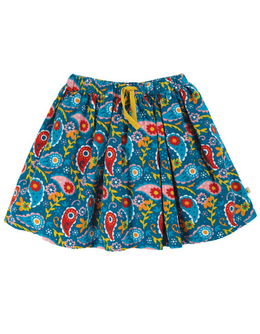 Image of Frugi Lizzie Cord Skirt - Pixie Paisley