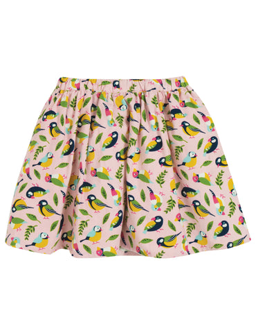 Image of Frugi Lizzie Cord Skirt - Soft Pink Tweet - Tilly & Jasper
