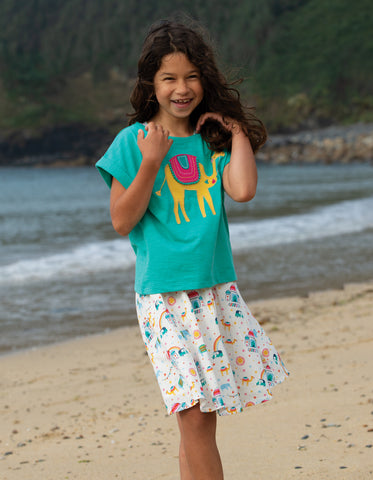 Frugi Fiona Full Skirt - At The Taj
