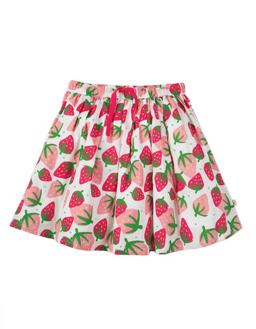 Image of Frugi Fiona Full Skirt - Scilly Strawberries - Tilly & Jasper