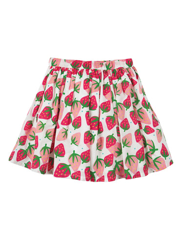Frugi Fiona Full Skirt - Scilly Strawberries - Tilly & Jasper