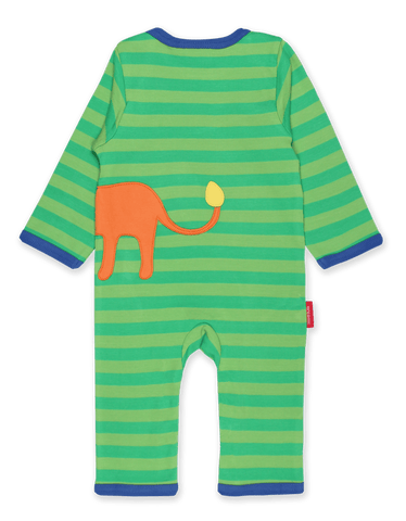 Image of Toby Tiger Walking Lion Applique Sleepsuit
