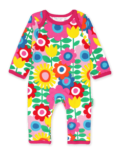 Toby Tiger Flower Power Sleepsuit