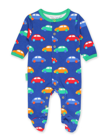 Image of Toby Tiger Car Print Babygrow