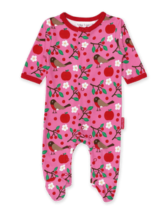 Toby Tiger Robin Sleepsuit