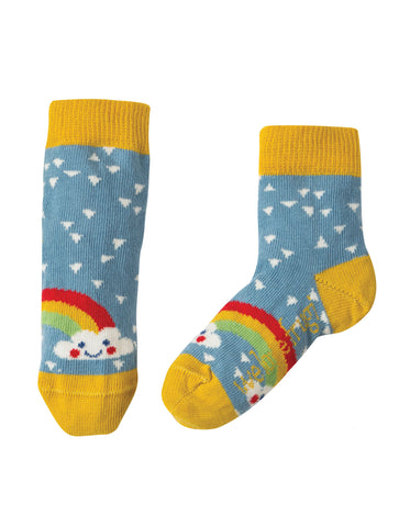 Frugi Little Socks 3 Pack - Chicken - Tilly & Jasper