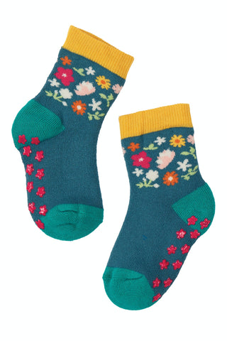 Frugi Grippy Socks 2 Pack - Duck Multipack