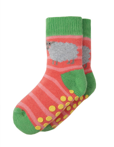 Image of Frugi Grippy Socks 2 Pack - Bunny Multipack