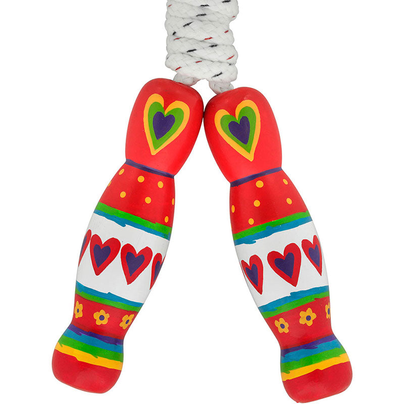 Lanka Kade Red Heart Skipping Rope