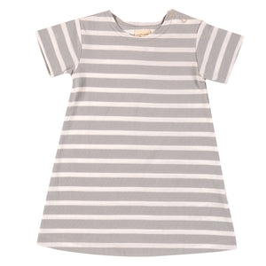 Pigeon Organics Breton Dress - Grey
