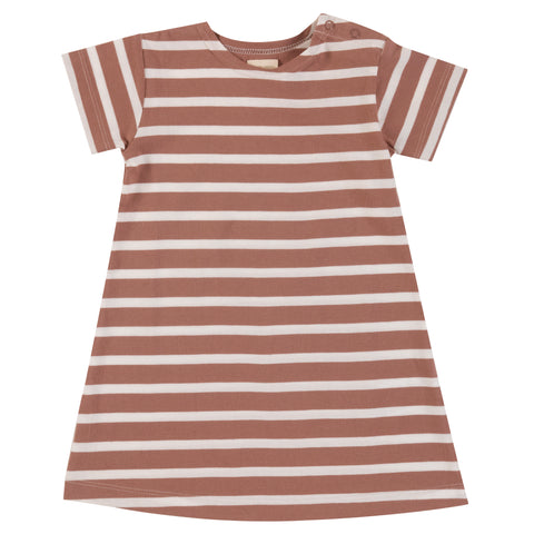 Pigeon Organics Breton Dress - Walnut